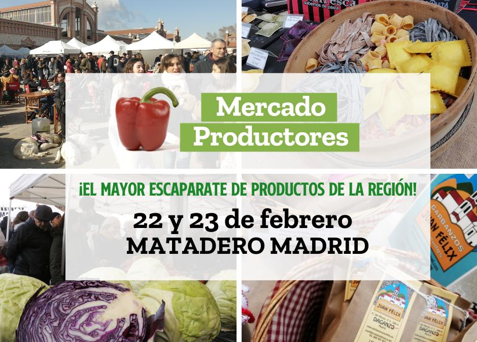 Mercado de Productores en Madrid ( Matadero).